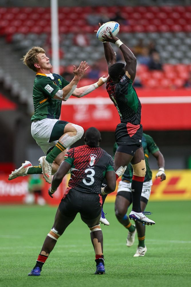 Action from HSBC Canada Sevens in Vancouver