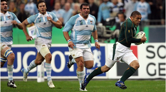 Player Tracking: Habana intercepts to speed to try at Rugby World Cup 2007