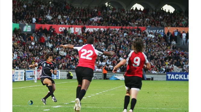 Under Pressure: Shotaro Onishi keeps a cool head to grab a draw v Canada in 2007