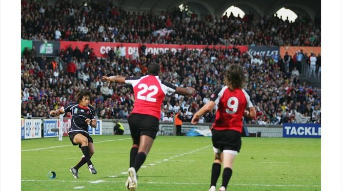 Under Pressure: Shotaro Onishi keeps a cool head to grab a draw v Canada in 2007