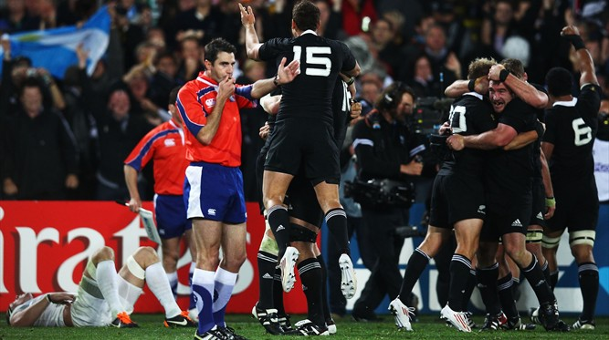 Craig Joubert - RWC 2011 Final