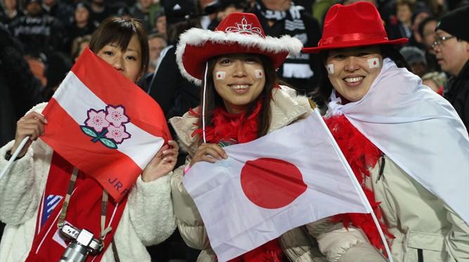 Japan fans - NZL v JPN