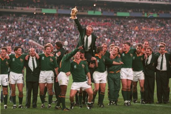 World cup winners South Africa - RWC 1995