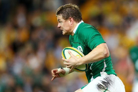 Ireland Best Bits: Brian O'Driscoll's almost impossible finish v Australia