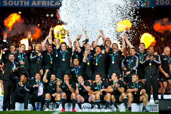 New Zealand v France at RWC 2011