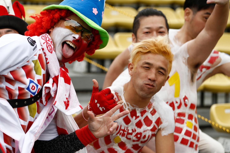 Fans at Tokyo sevens