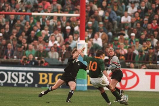 South Africa Best Bits: Joel Stransky's drop goal in Rugby World Cup 1995 final