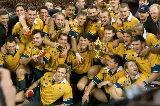 Australia RWC winners, 1999