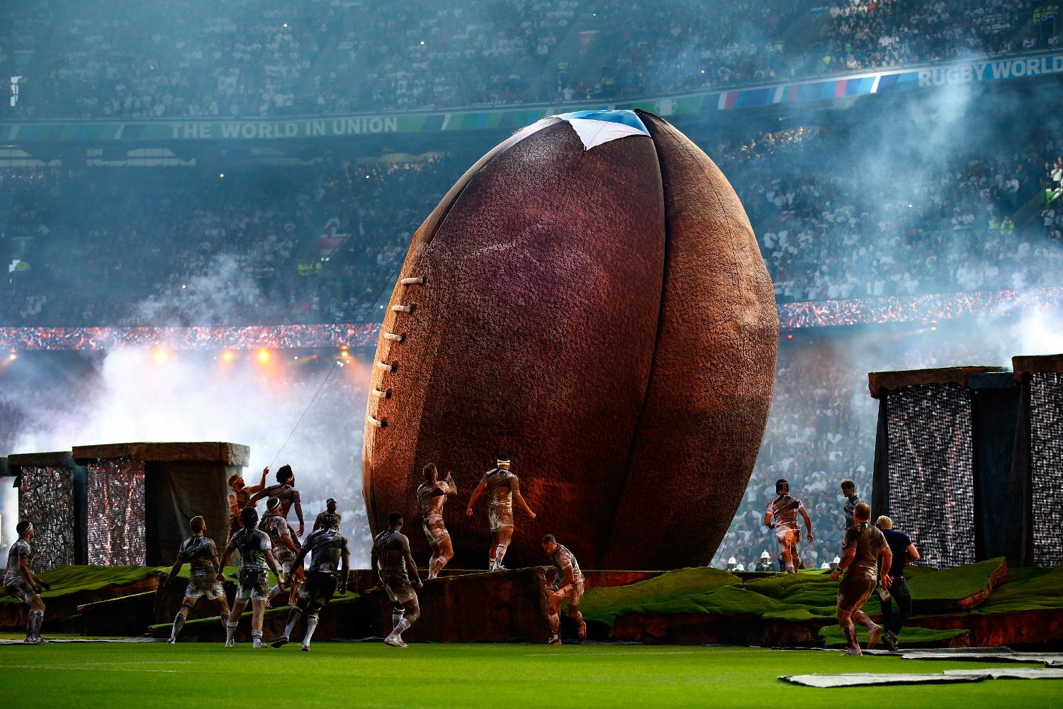 Rugby Ball opening ceremony