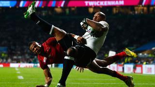 Fiji Best Bits: Volavola's cross field kick perfection for Nadolo