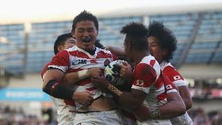 Japan Best Bits: Ayumu Goromaru finishes great set move at RWC 2015