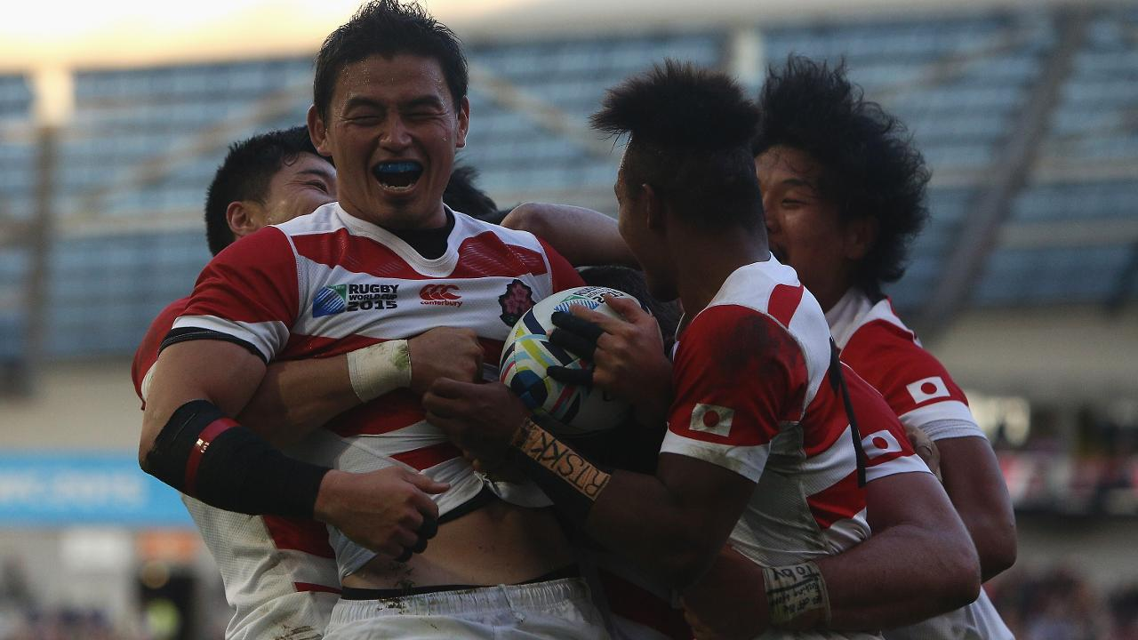 Goromaru scores amazing try for Japan at Rugby World Cup 2015