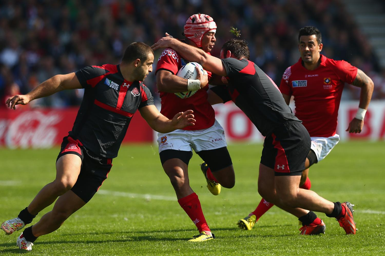 Tonga v Georgia - Group C: Rugby World Cup 2015