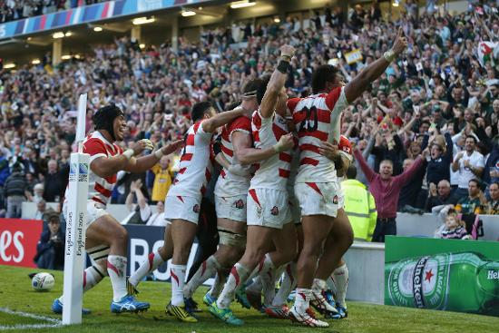 Under Pressure: Hesketh finishes to give Japan first ever win over South Africa