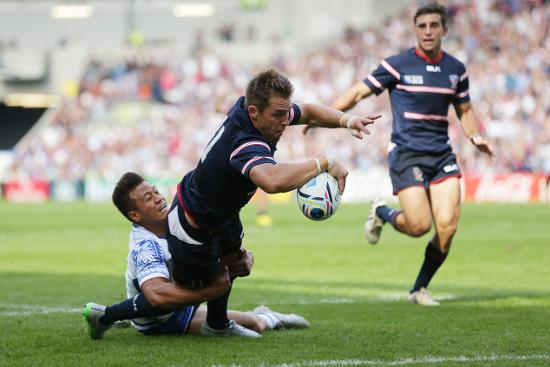 USA Best Bits: Team move leads to amazing try at Rugby World Cup 2015