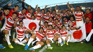 Hall of Fame Greatest Moment: Japan vs South Africa - RWC 2015�