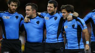Uruguay Best Bits: Passionate national anthem at Rugby World Cup 2015