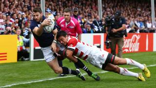 Try Savers: Goromaru's Try Saving Tackle v Scotland at RWC 2015