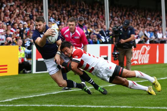 Try Savers: Goromaru's Try Saving Tackle v Scotland at RWC 2015