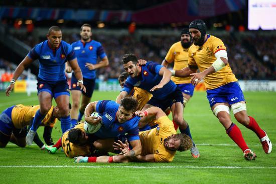 Match highlights: France v Romania