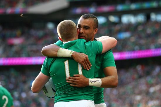 RWC Re:LIVE - Reddan and Earls combine for Ireland