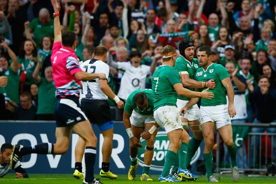 Match highlights: Ireland v Romania