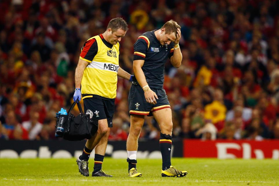 Wales v Fiji - Group A: Rugby World Cup 2015