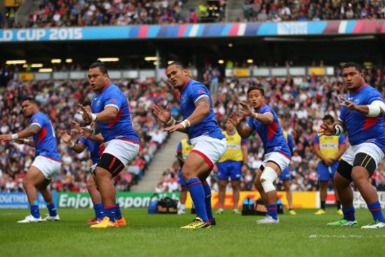 Samoa Best Bits: Great Siva Tau at Rugby World Cup 2015