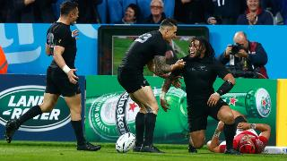 RWC Re:LIVE - 100-cap Nonu rounds off New Zealand win