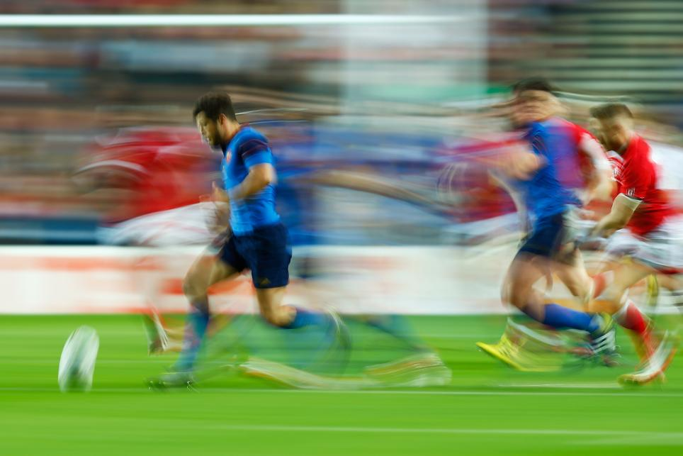 Brice Dulin of France: Rugby World Cup 2015