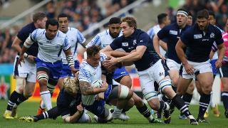Samoa v Scotland - Group B: Rugby World Cup 2015