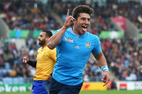 Italy v Romania - Group D: Rugby World Cup 2015