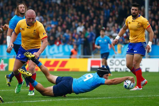 RWC Re:LIVE - Gori goes over for second Italy try