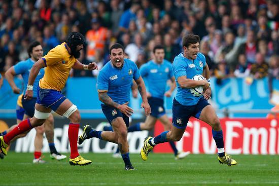 RWC Re:LIVE - Brilliant Allan puts Italy in control