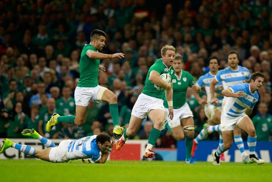 Ireland Best Bits: Luke Fitzgerald's great try v Argentina at Rugby World Cup 2015