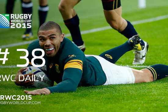RWC Daily: Habana's Record 15 tries