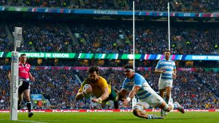 Australia Best Bits: Adam Ashley-Cooper scores v Argentina at Rugby World Cup 2015