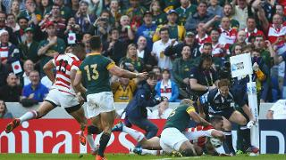 Memorable moments: Rugby World Cup 2015