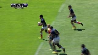 Try, Lomano Lemeki, France v JAPAN