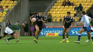 RE:Live - Sonny Bill's RIDICULOUS offload wins it for New Zealand!