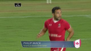 Try, Philip Mack, CANADA v Portugal