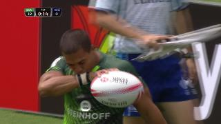 Try, Cheslin Kolbe, SOUTH AFRICA v Scotland