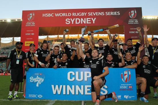 New Zealand win the HSBC Sydney Sevens