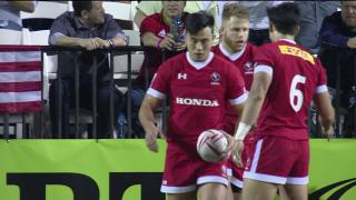 Try, Conor Trainor, Usa v CANADA