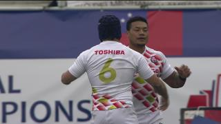 Try, Lomano Lemeki, Scotland v JAPAN