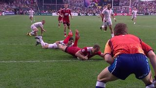 Try, Denis Simplikevich, England v RUSSIA