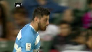 Try, Javier Ortega Desio, ARGENTINA v Russia
