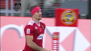 Try, Vladimir Ostroushko, Wales v RUSSIA