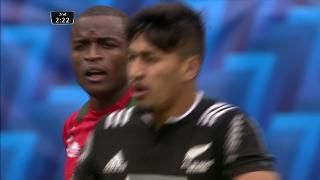 Try, Rieko Ioane, Kenya v NEW ZEALAND