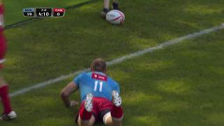 Try, Denis Simplikevich, RUSSIA v Canada